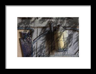 Tin Can Framed Prints