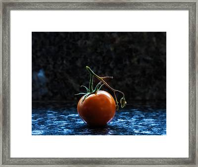 Out In The Spot Light Framed Print