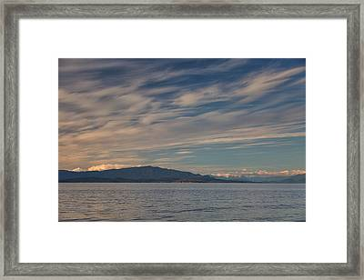 Out Like A Lamb Framed Print by Randy Hall