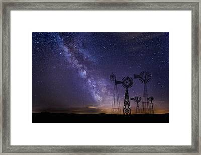 Our Milky Way  Framed Print