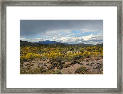 Out My Way Framed Print by Gordon Beck