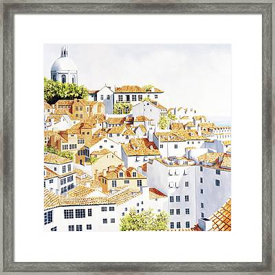 Out My Window Framed Print