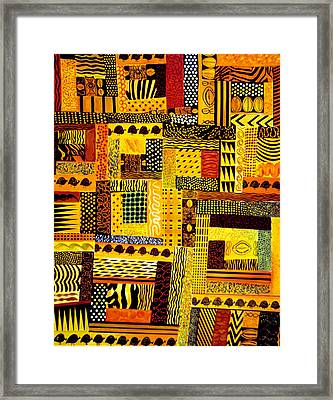 Out Of Africa Framed Print