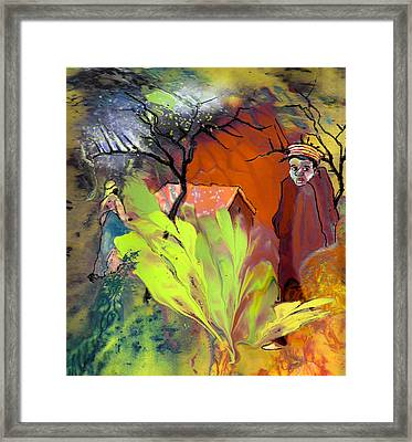 Out Of Africa Framed Print by Miki De Goodaboom
