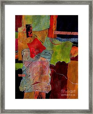 Out Of Bounds Framed Print by Donna Frost