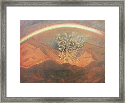 Out Of Darkness Framed Print by Suzanne  Marie Leclair