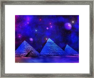 Out Of Eternity Framed Print