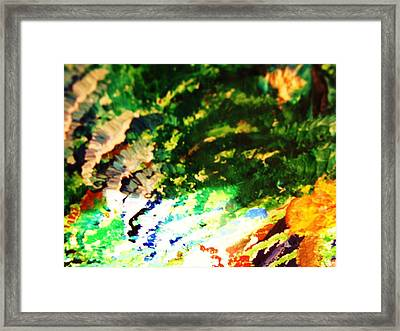 Out  Of Mind  Framed Print by HollyWood Creation By linda zanini