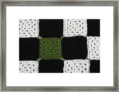 Out Of Place Framed Print by Christin Burrows