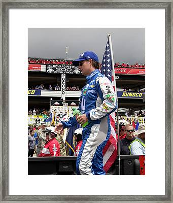 Out Of Retirement Framed Print