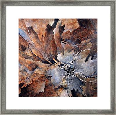 Out Of The Ashes Framed Print