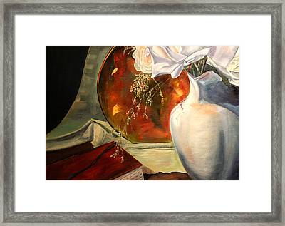 Out Of The Best Books Framed Print by Jane Autry