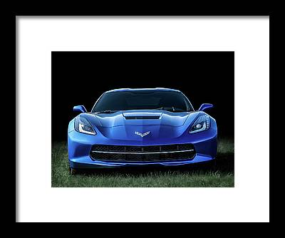 Chevrolet Corvette Framed Prints