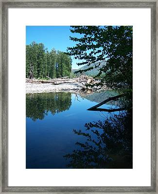 Out Of The Blue Framed Print by Ken Day