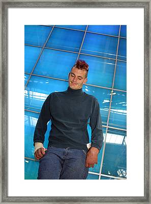 Out Of The Blues Framed Print by Jez C Self