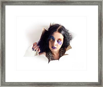 Out Of The Box Performance Framed Print