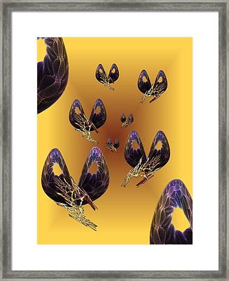 Out Of The Box Framed Print by Ricky Kendall
