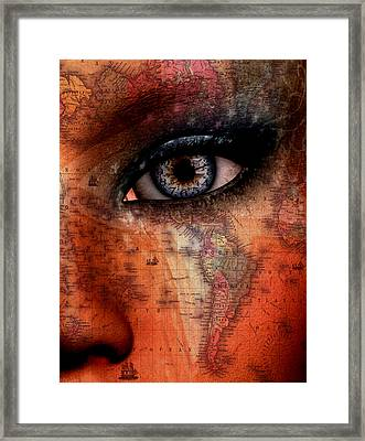 Out Of The Country Framed Print