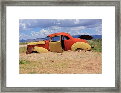 Out Of The Desert Framed Print by Aidan Moran