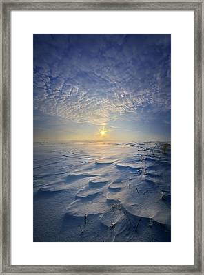 Framed Print featuring the photograph Out Of The East by Phil Koch