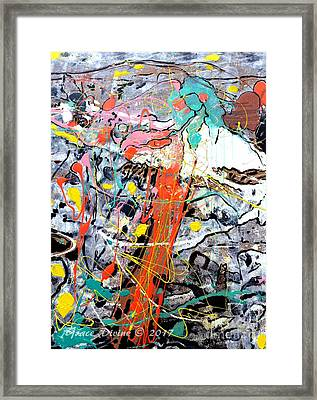 #out Of The #fog #landscape #art #chronicle Of The #american #experience #beautiful #mountains #chal Framed Print by Grace Divine