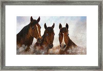 Out Of The Fog  Sold Framed Print