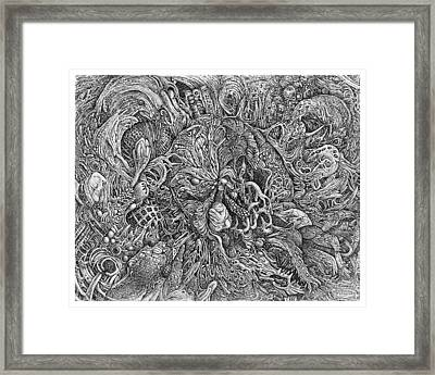 Out Of The Fold Framed Print by Joe MacGown