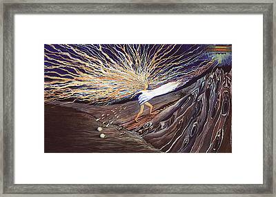 Out Of The Miry Clay Framed Print