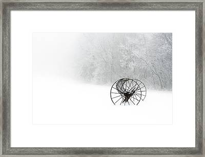 Out Of The Mist A Forgotten Era 2014 Framed Print