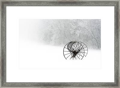 Out Of The Mist A Forgotten Era 2014 II Framed Print