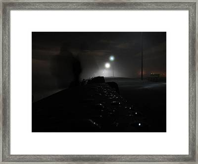 Framed Print featuring the photograph Out Of The Mist by Digital Art Cafe