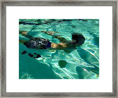 Out Of The Noise Framed Print