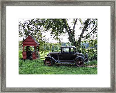 Out Of The Past Framed Print