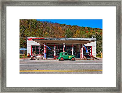 Out Of The Past Framed Print by Steve Harrington