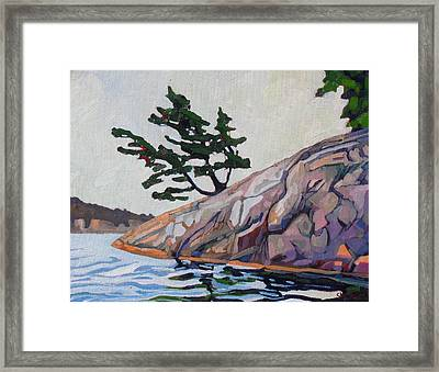 Out Of The Rock Framed Print