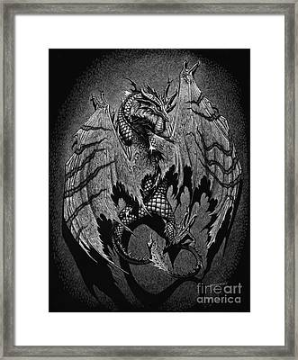 Framed Print featuring the digital art Out Of The Shadows by Stanley Morrison