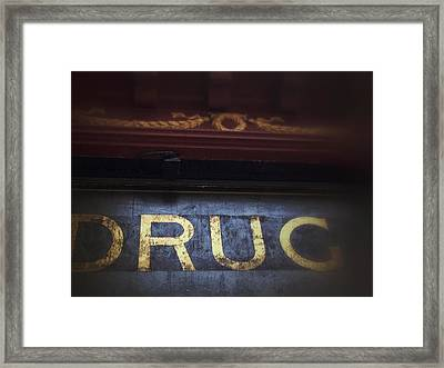 Framed Print featuring the photograph Out Of The Store by Olivier Calas
