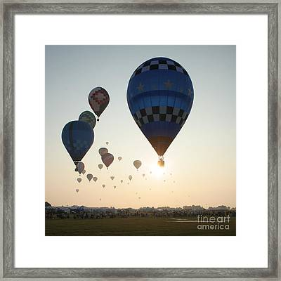 Out Of The Sun No2 Framed Print by Paul Anderson