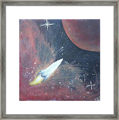 Out Of This World Framed Print by Cyrionna The Cyerial Artist