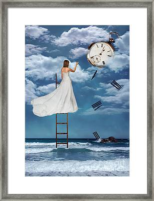 Out Of Time Framed Print