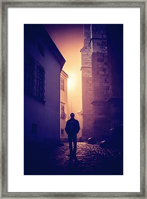 Out Of Time Framed Print by Jenny Rainbow