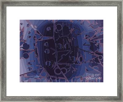 Touch Away Framed Print