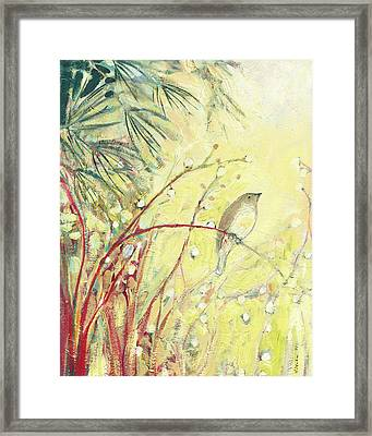 Out On A Limb Framed Print by Jennifer Lommers