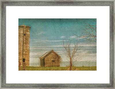 Out On The Farm Framed Print by Pamela Williams