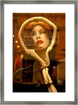 Out Or In Framed Print by Jez C Self