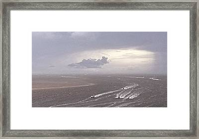 Out Running The Storm Framed Print