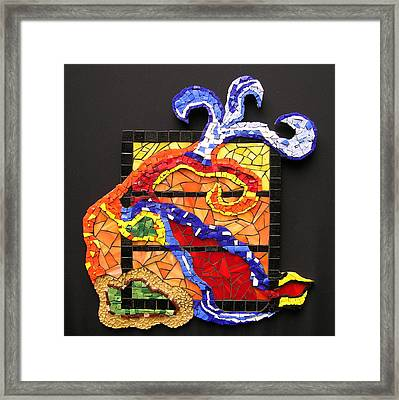 Out The Box Framed Print by Gila Rayberg