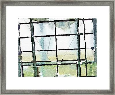 Out There Framed Print by Anna Belle