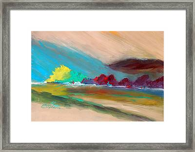 Out There Framed Print by Ron Stephens