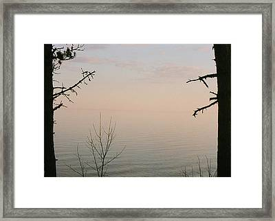 Out There.....that Way.... Framed Print by C E McConnell